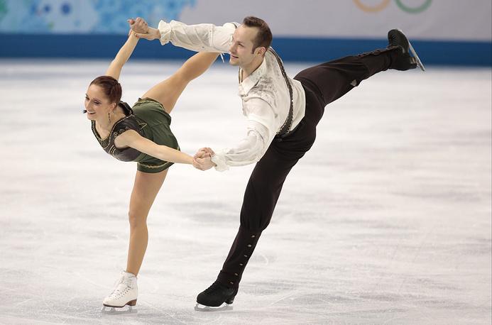 Немецкие фигуристы, участники Олимпийских игр в Сочи Майлин и Даниэль Венде поженились в июне 2013 года
