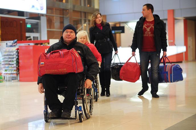 Свердловчане проводили паралимпийцев в Сочи