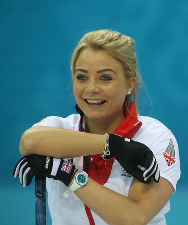 Керлингистка сборной Великобритании Анна Слоун (23 года). Бронзовый призер Олимпийских игр в Сочи в составе сборной Великобритании, чемпионка Европы в Москве (2011) и чемпионка мира в Риге (2013)