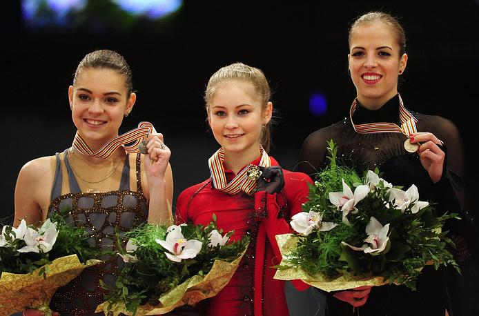 Чемпионат Европы по фигурному катанию в Будапеште - тройка призерок первенства