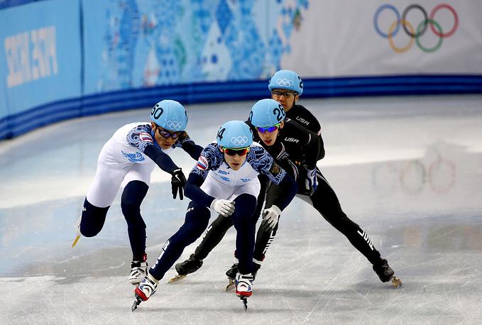 В составе мужской сборной России Виктор Ан завоевал третью золотую медаль Олимпиады