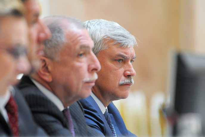 Илья Клебанов, Георгий Полтавченко, 2011 г.