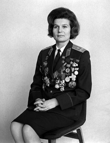 Валентина Терешкова. 1970 год