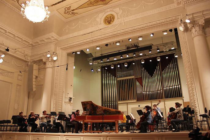 """Репетиция на Фестивале """"Bach-Fest-2014"""""""