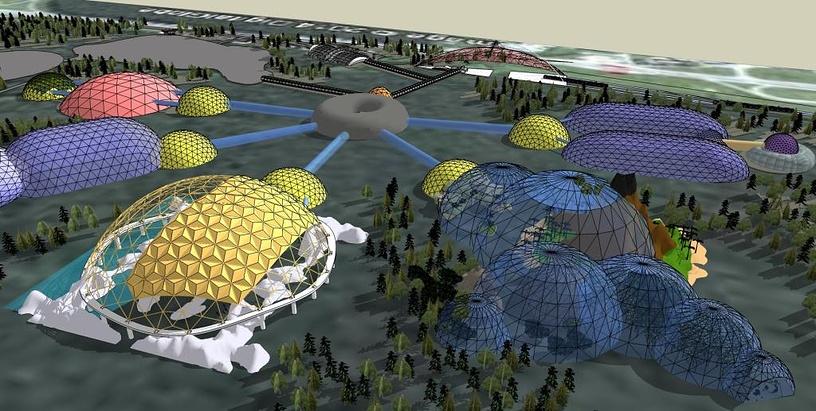 Концепция нового Санкт-Петербургского зоопарка.