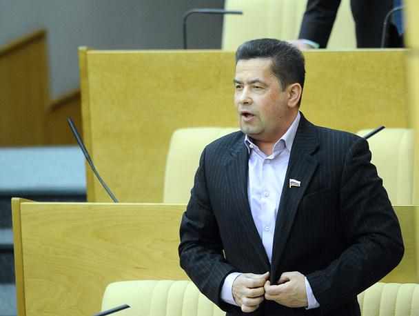 Николай Расторгуев на пленарном заседании Государственной думы. 2010 год