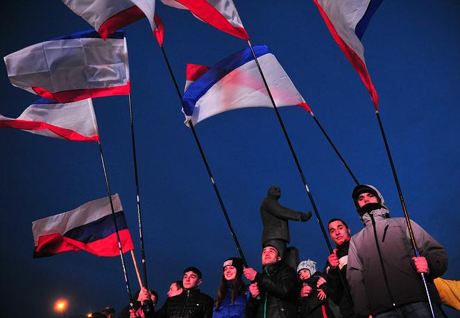 На концерт в Симферополе пришли более 15 тыс. человек