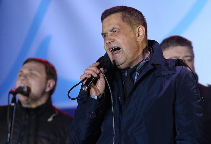 """Группа """"Любэ"""" выступила на концерте в Симферополе"""