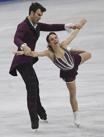 Третьими стали канадцы Меган Дуамель и Эрик Рэдфорд (210,84)