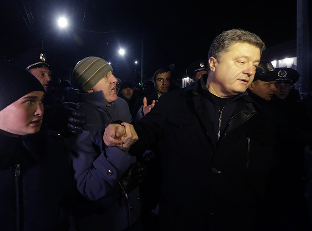 Депутат Верховной рады и бизнесмен Петр Порошенко