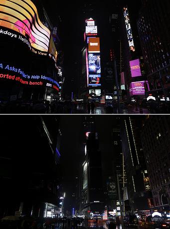 Нью-Йорк, площадь Таймс-сквер