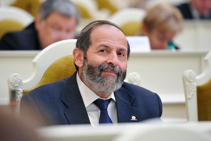 Депутат Законодательного собрания Петербурга Борис Вишневский