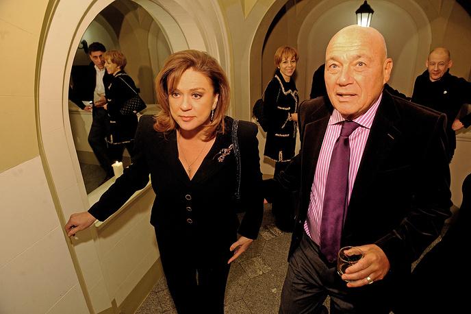 В 1986 году Познер стал лауреатом премии Союза журналистов СССР. На фото: Светлана Сорокина и Владимир Познер, 2012 год