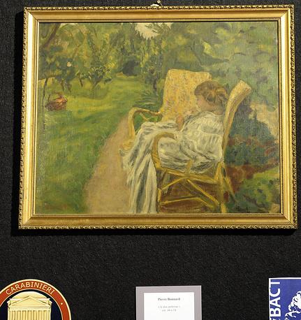 """Картина """"Женщина в двух креслах"""" художника Пьера Боннара"""