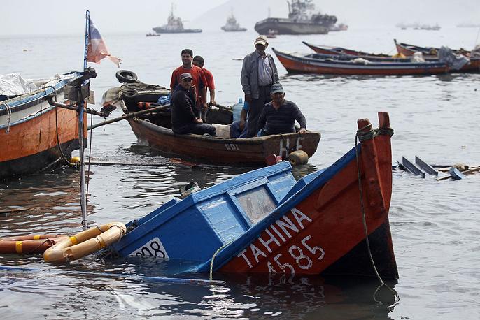 В северных прибрежных районах объявлена угроза цунами