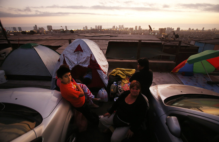 3 апреля у побережья Чили произошло повторное землетрясение магнитудой 7,8
