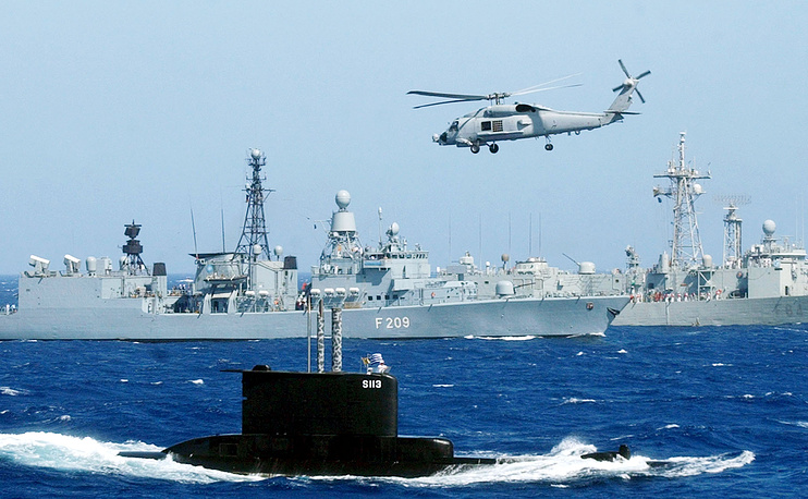 """Операция """"Активные усилия"""" в Средиземном море, начавшаяся с 2001 года. Вооруженные силы НАТО в Средиземном море, участвующие в операции """"Активные усилия"""""""