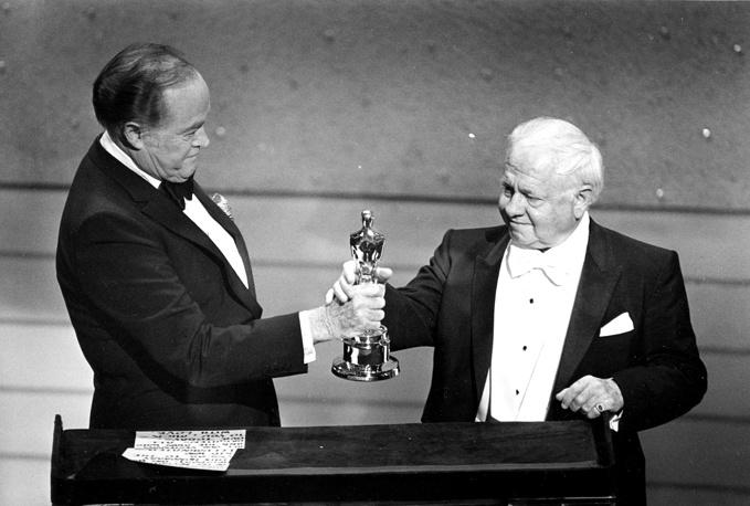 """Во время вручения премии """"Оскар"""". 1983 год"""
