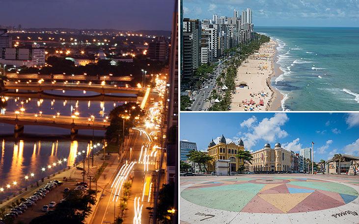 Столица штата Пернамбуку город Ресифи является одним из крупнейших экономических центров северо-востока Бразилии. Население - 1,6 млн человек. Основан в 1561 году, его часто называют бразильской Венецией за многочисленные мосты и колониальную архитектуру. Благодаря бесконечным океанским пляжам, комфортному климату круглый год и богатому культурному наследию привлекает как бразильцев, так и множество туристов