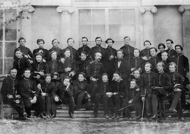 Выпусники Петербургского училища правоведения. Россия. 1859 год
