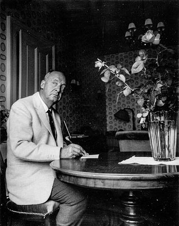 """В Швейцарии Набоков написал последние романы, в числе которых """"Бледный огонь"""" и """"Ада"""""""