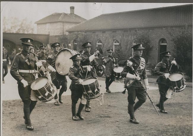 Оркестр ударных инструментов Dean Close. Великобритания. 1930е годы