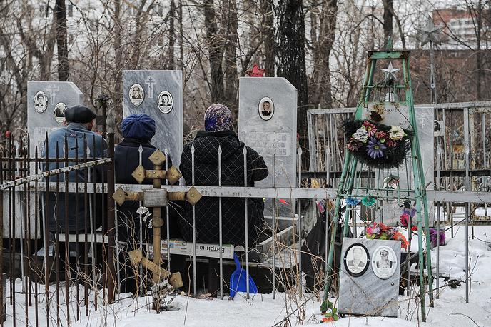 Михайловское кладбище Екатеринбурга