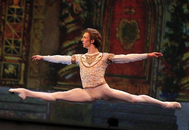 "Семен Чудин в сцене из балета ""Синяя Борода"""