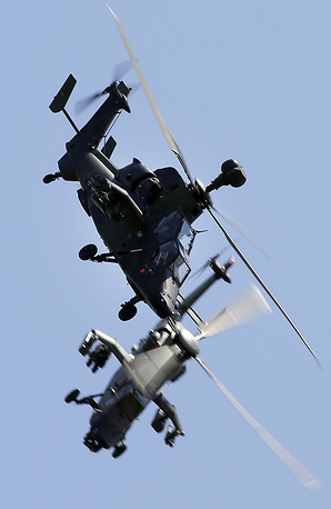 Вертолеты Tiger немецко-французской компании Tiger Patrol
