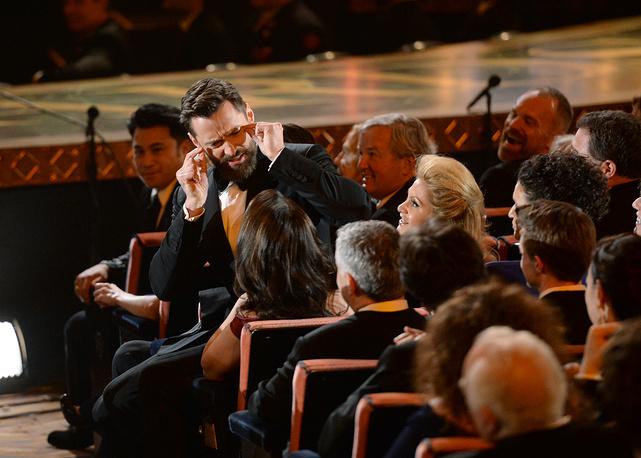 Хью Джекман на церемонии Tony Award