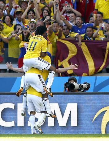 Радость колумбийцев