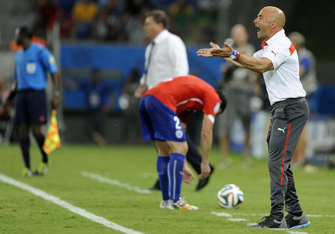 Тренер чилийской сборной Хорхе Сампаоли