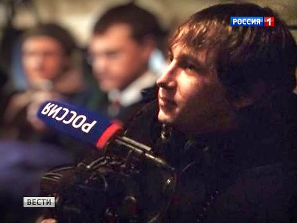Видеоинженер ВГТРК Антон Волошин