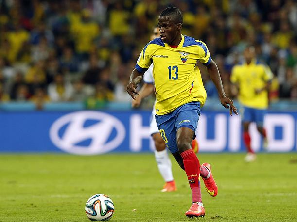 Эквадорец Эннер Валенсия отметился дублем в этой игре