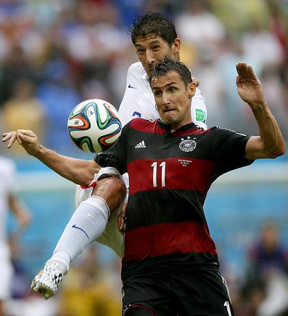 Мирослав Клозе не смог стать лучшим бомбардиром чемпионатов мира в этом матче