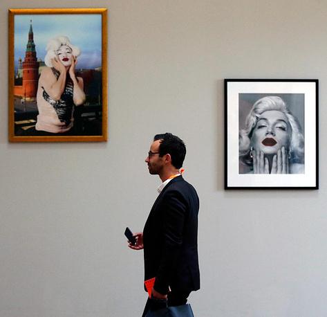 """на """"Манифесте"""" представлены картины российского художника Владислава Мамышева-Монро, погибшего в марте 2013 года"""