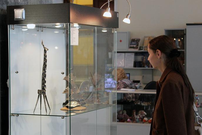 """Кованые игрушки на выставке """"Уральская кузнеца мастеров"""""""