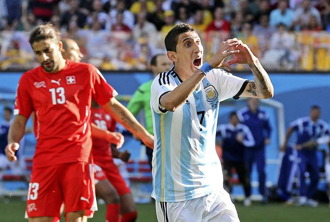 Анхель Ди Мария забивает на 118-й минуте