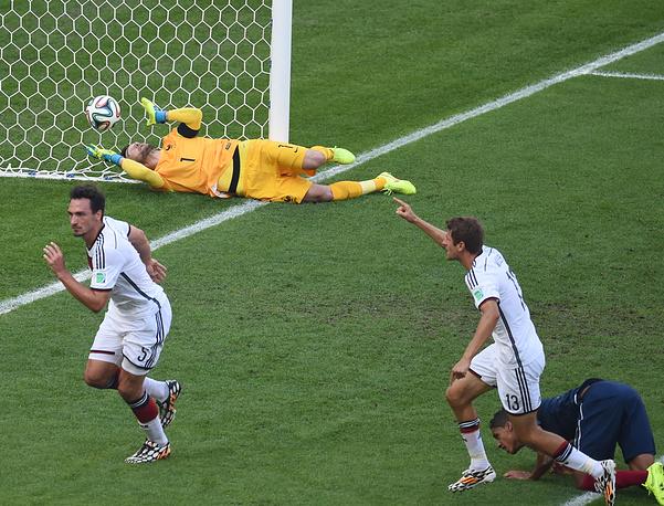 Для Хуммельса это уже второй гол на турнире