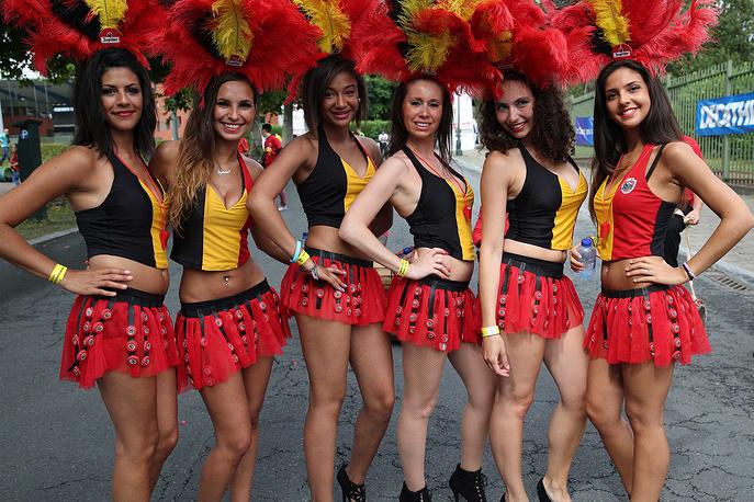 Бельгийские красавицы