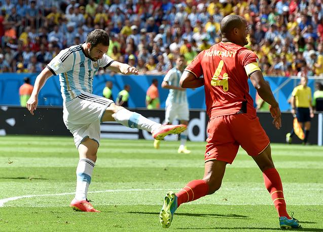 Единственный гол в матче на 8-й минуте забил Гонсало Игуаин