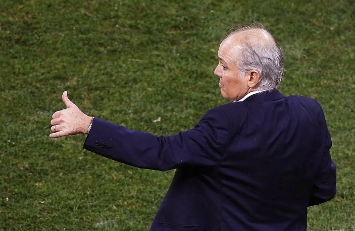 Главный тренер сборной Аргентины Алехандро Сабелья может быть доволен