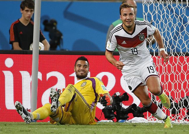 Победный гол был забит на 113-й минуте игры, отличился Марио Гетце
