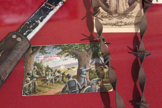 Фрагмент колючей проволоки. Великобритания, 1914-1918 годы