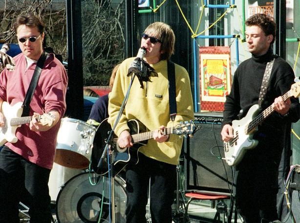 """Выступление группы  """"Сплин"""" в Москве.1998 год"""