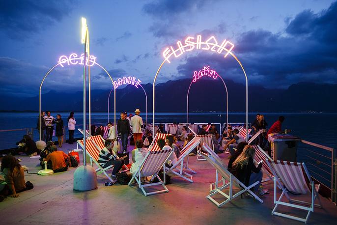 Джазовый фестиваль в Монтрё ежегодно привлекает сотни тысяч туристов