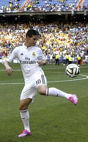 По данным СМИ, зарплата Родригеса в мадридской команде составит €7 млн