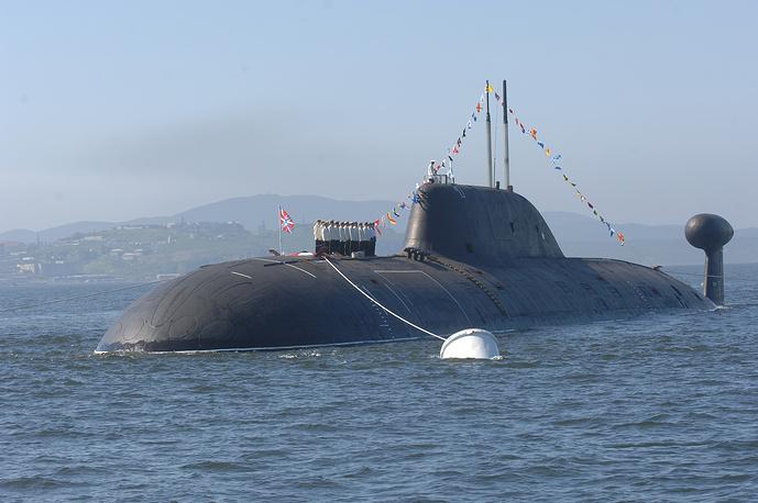 """Многоцелевая атомная субмарина третьего поколения проекта 971 """"Щука-Б"""""""