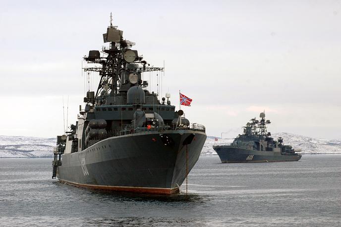 """Большие противолодочные корабли """"Адмирал Чабаненко"""" и """"Адмирал Левченко"""""""