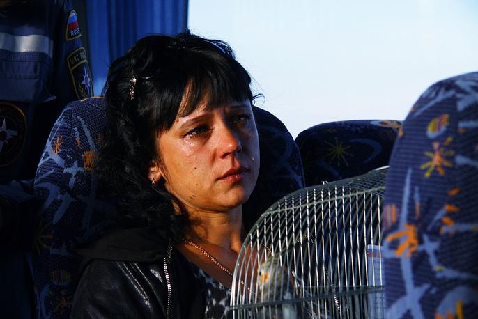 Переселенцы с Украины